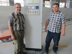 Цех 6 Шкаф управления нагревом на установке пресования заготовок 09
