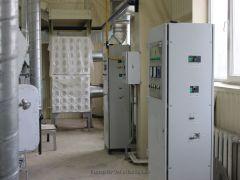 Цех 6 Шкаф управления нагревом на установке пресования заготовок 34