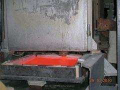 Цех 5. Участок переодической варки стекла в платиновых сосудах Установка патрубок 018
